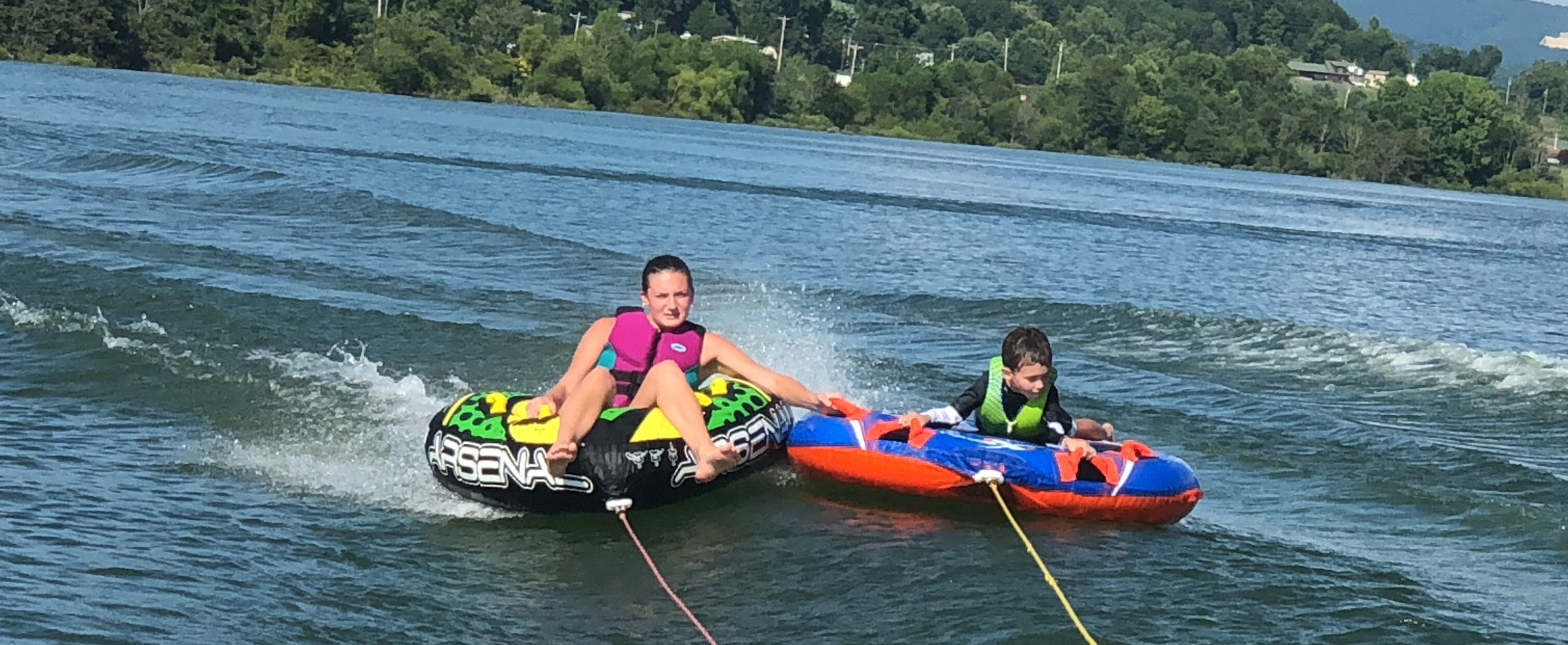 Fun times on the lake!